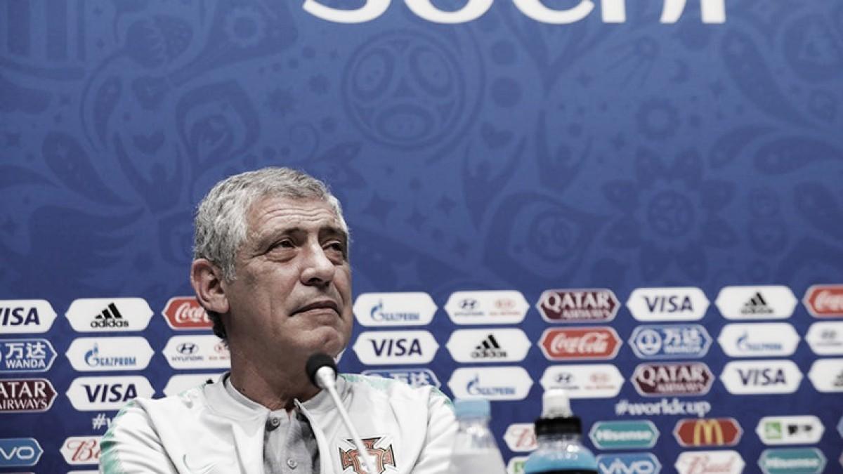 """Fernando Santos: """"Uruguay es un equipo muy fuerte"""""""