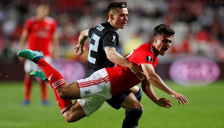 Benfica está nos quartos de final da Liga Europa