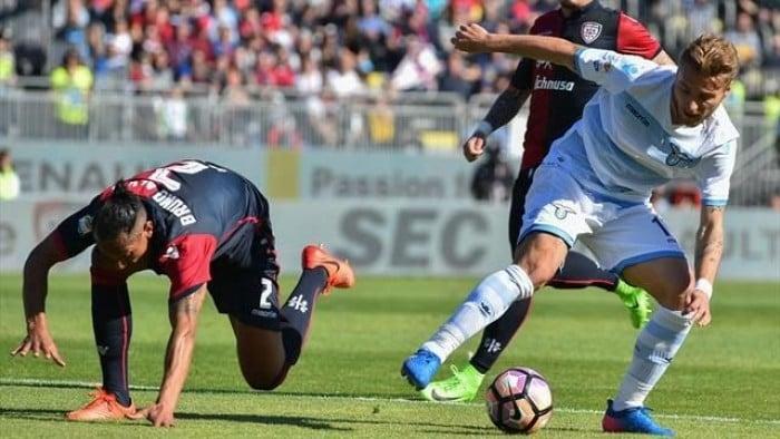 Immobile stende il Cagliari La prima di Lopez finisce 3-0