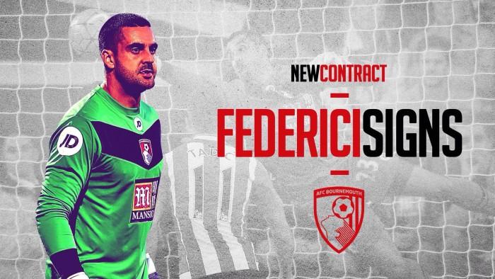 Federici renueva con el Bournemouth hasta 2019