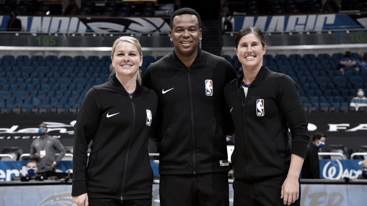 Natalie Sago and Jenna Schroeder make NBA history