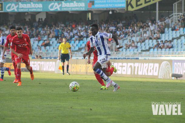 Fotos e imágenes del Real Sociedad 0-0 Sporting de Gijón de la 2ª jornada de Primera División