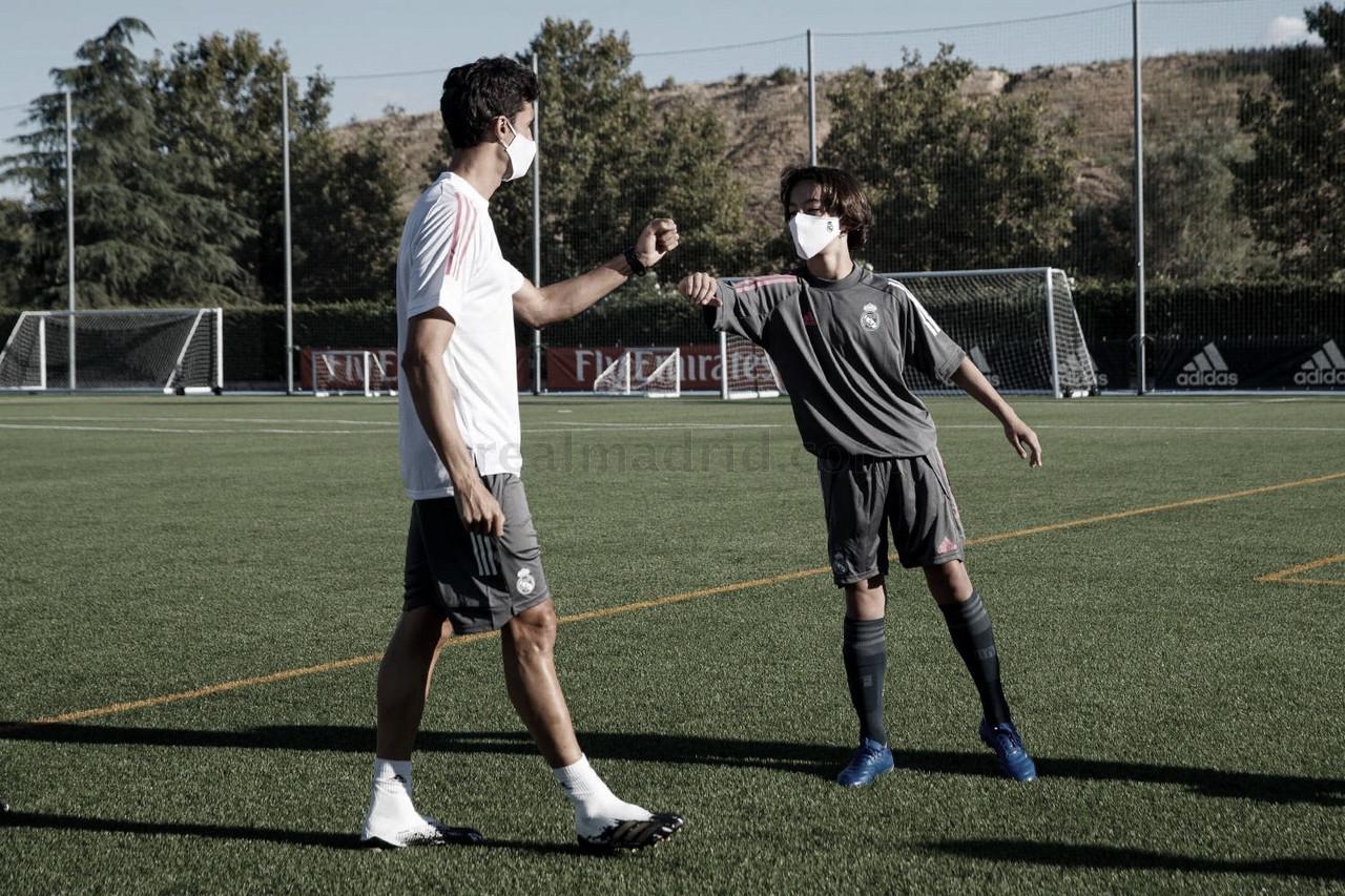 El cadete B y el Infantil A del Real Madrid empiezan la temporada