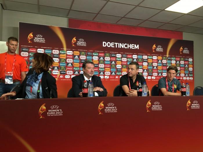 Euro 2017: Ives Serneels talks Euro goals