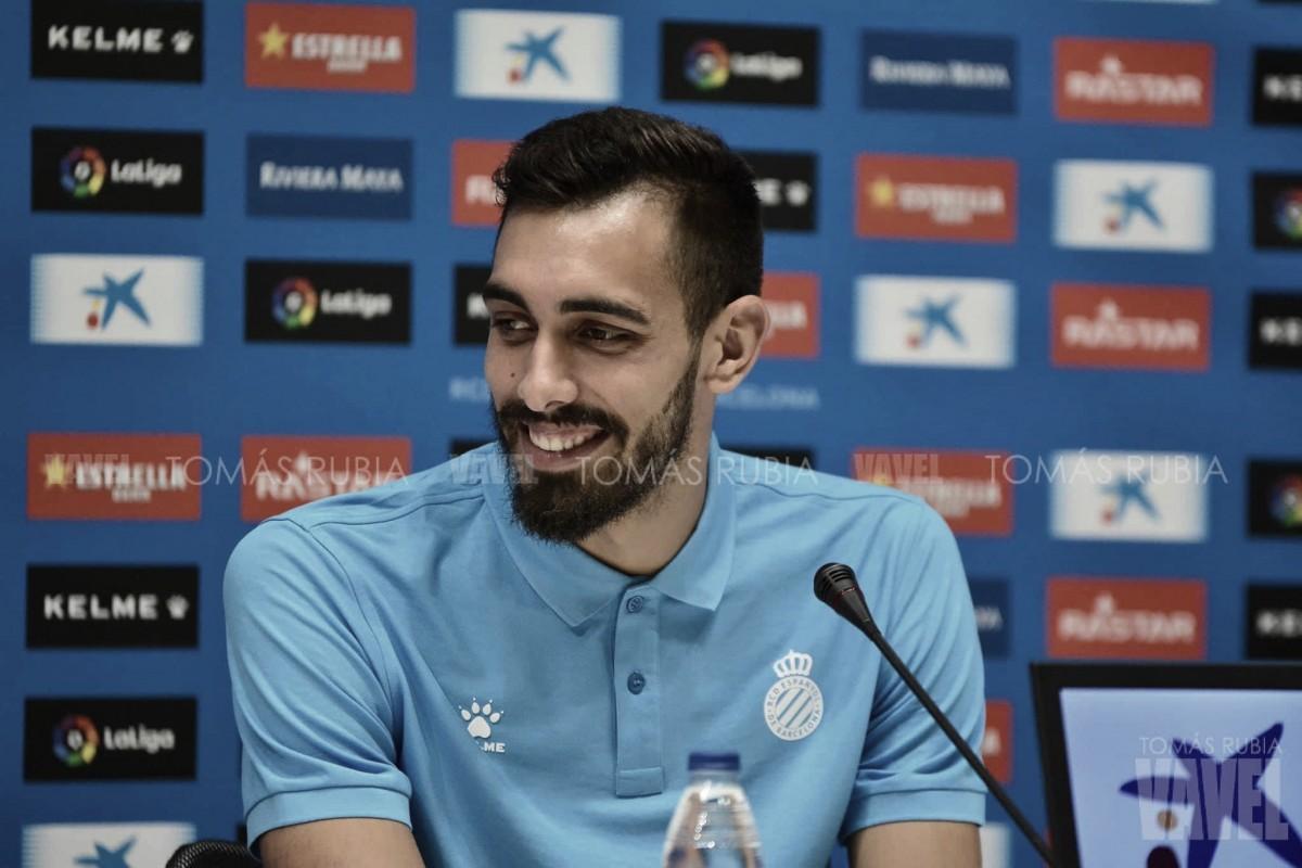 """Borja Iglesias: """"No creo que tenga que venir a ser el nuevo Gerard"""""""