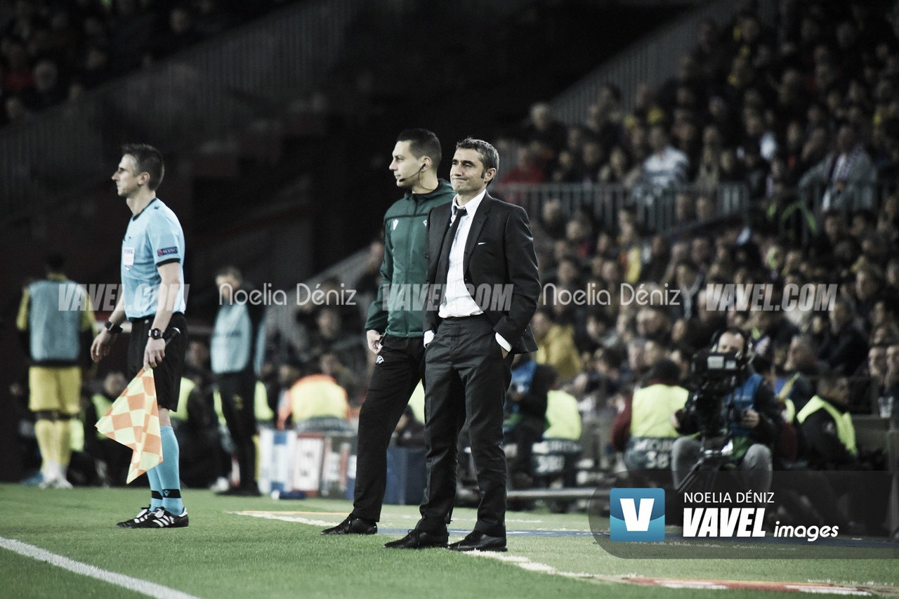 """Ernesto Valverde: """"Llevamos un mes muy intenso"""""""