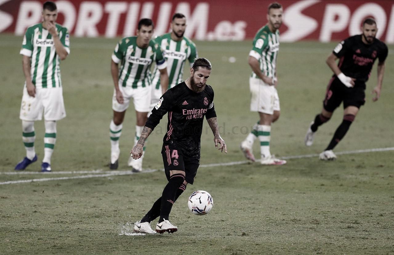 Sergio Ramos, autocrítico con la actuación del equipo en el Villamarín