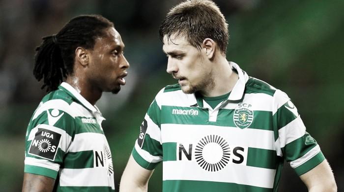 Os centrais do Sporting: cinco leões para dois tronos