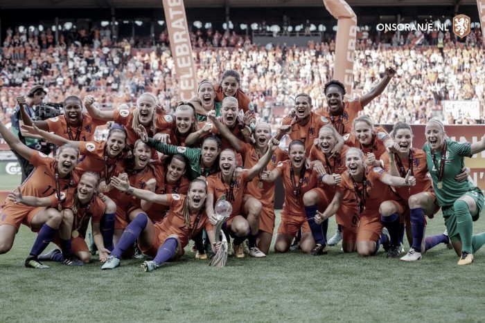 Women's Euros Finals: The Netherlands overpower Denmark to win at home