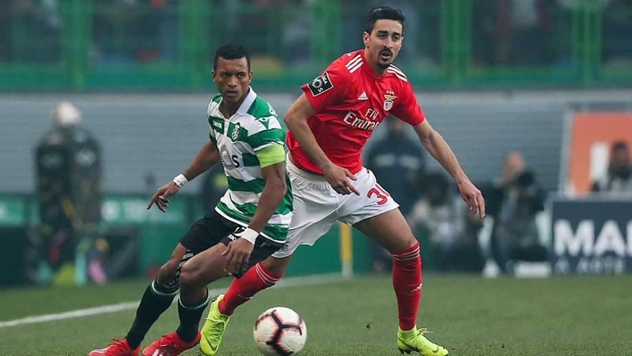 Benfica x Sporting em directo e ao VIVO no Dérbi (2-1)