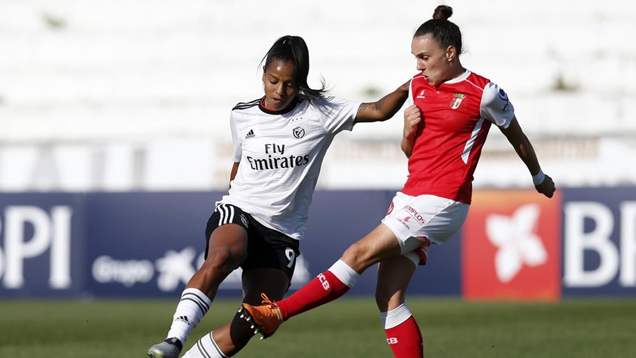 Futebol Feminino: Benfica no Jamor