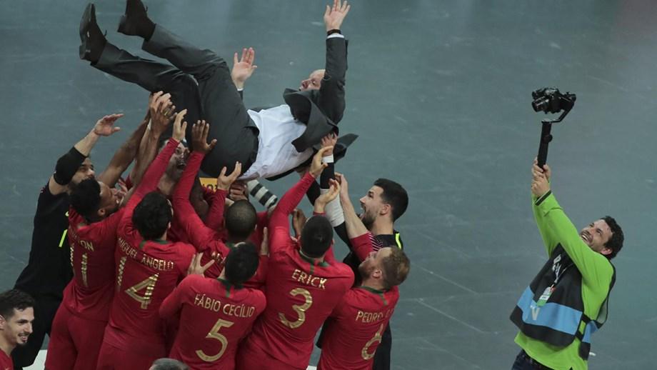 Seleção de Futsal apurada para o Mundial
