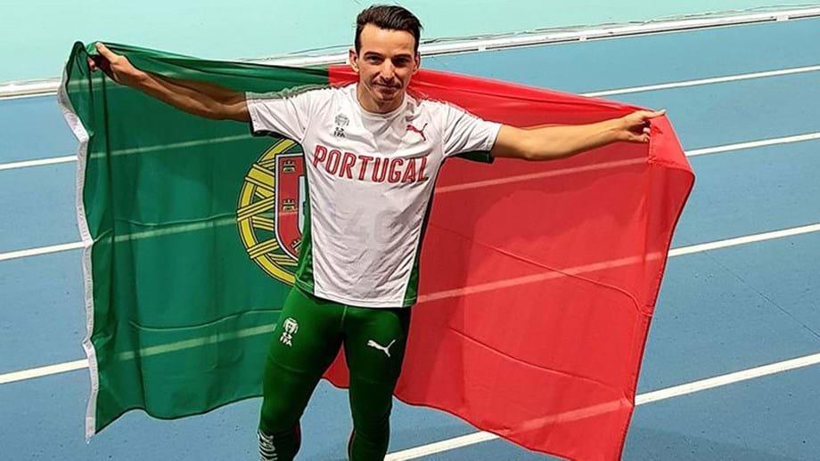 Lenine Cunha é campeão de Triplo Salto