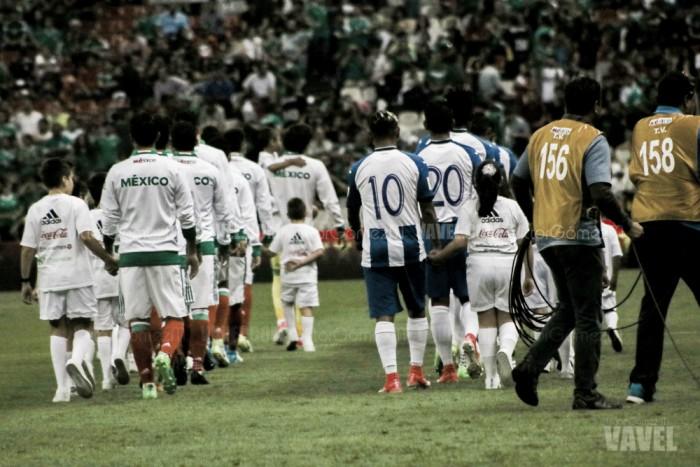 Fotos e imágenes del México 3-0 Honduras del Hexagonal de CONCACAF