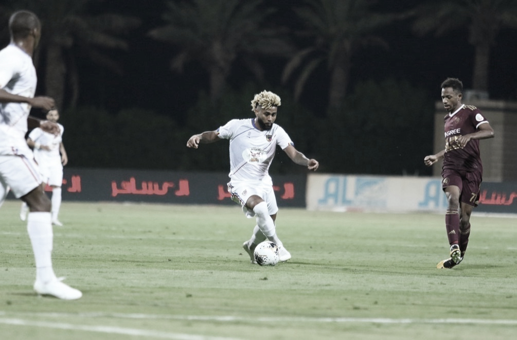 Ex-Flamengo, volante Muralha mira marcas pessoais na Arábia Saudita