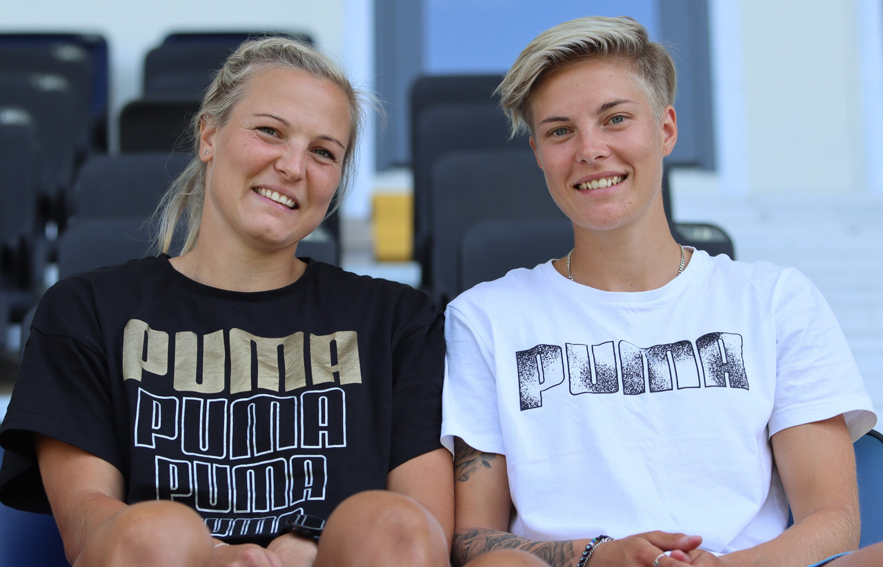 'Love has no limits!' - Swedish footballers and married couple Lina and Lisa Hurtig deliver a strong message for Pride month
