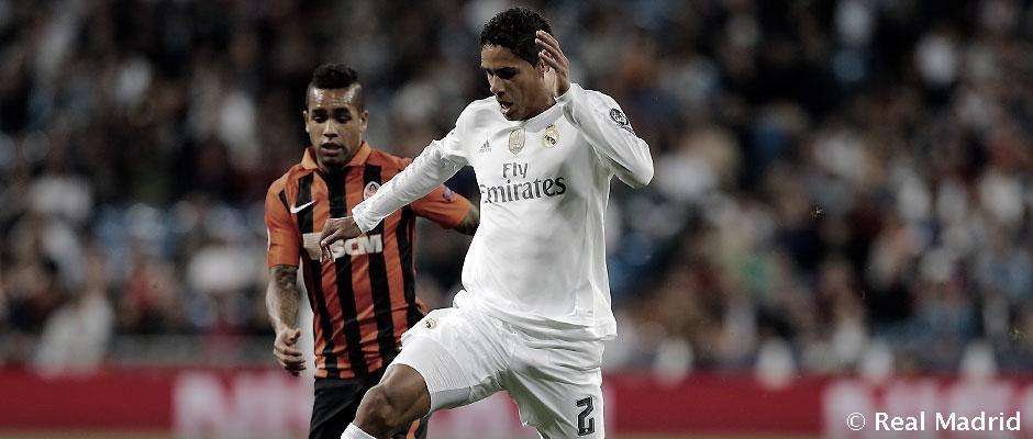 Último encuentro entre el Real Madrid y el Shakhtar Donetsk en la temporada 2015/16. Foto: Real Madrid