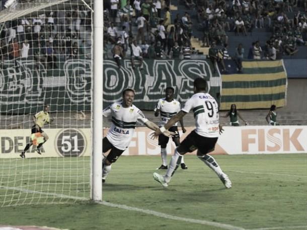 Coritiba vence Goiás em jogo entre equipes do Z-4 e mantém luta contra o rebaixamento