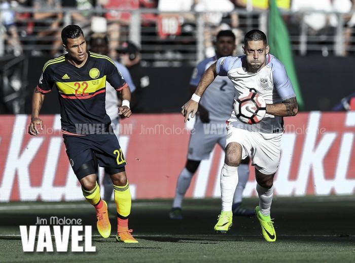 Images and Photos of USA 0-2 Colombia in Copa América Centenario 2016