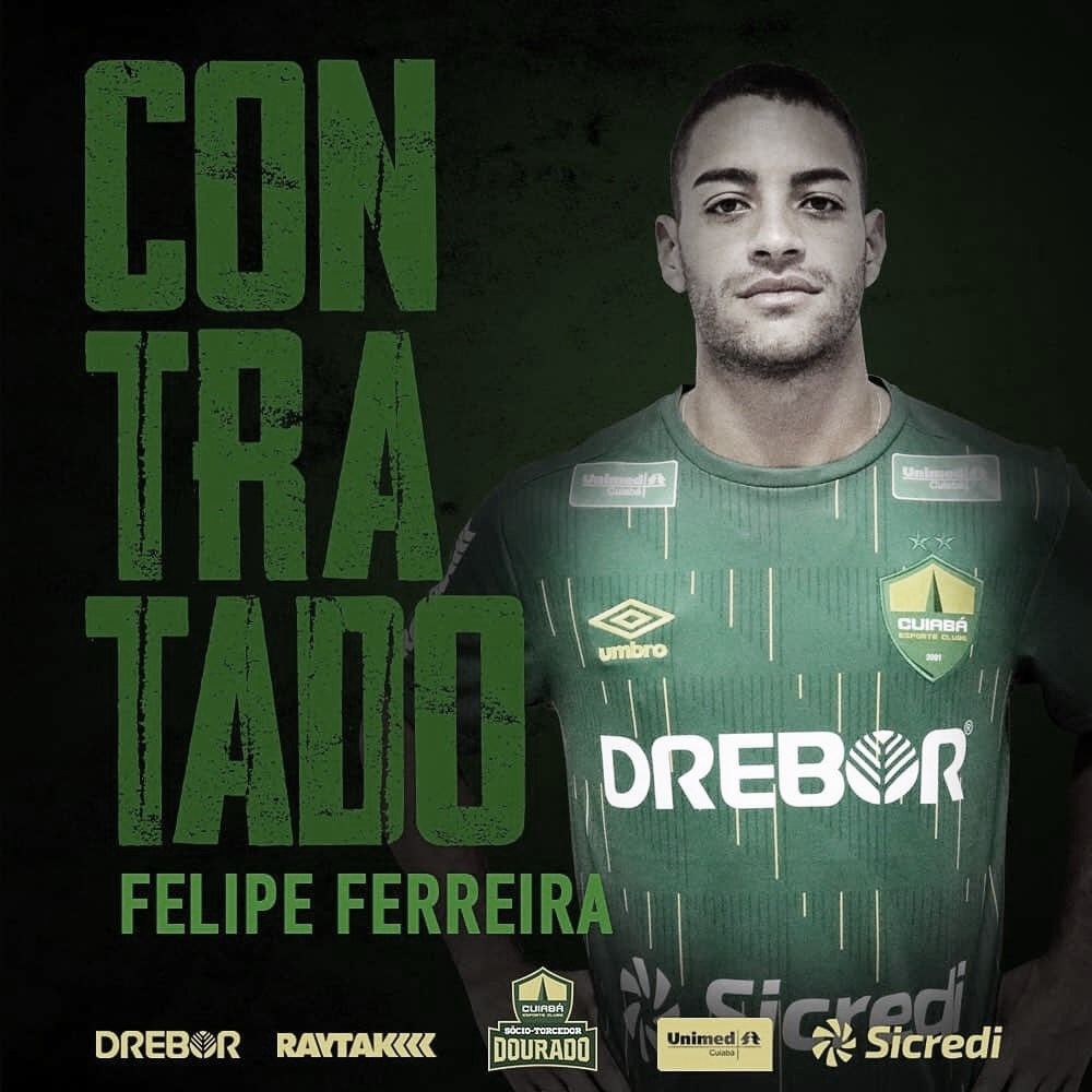 Após novo destaque na Ferroviária, meia Felipe Ferreira acerta transferência ao Cuiabá