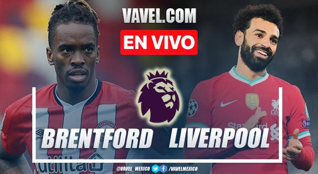 Resumen y goles Brentford 3-3 Liverpool en Premier League