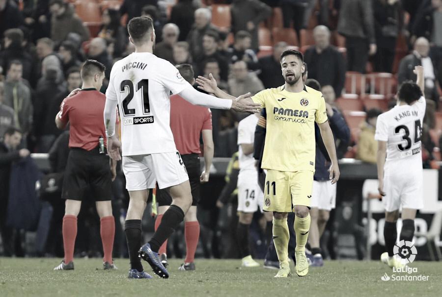 Resumen Valencia vs Villarreal en LaLiga 2019