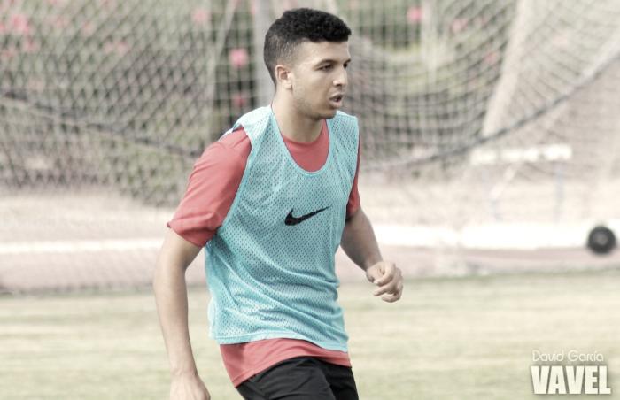 """Hicham: """"Este año es mi oportunidad de llegar al primer equipo"""""""