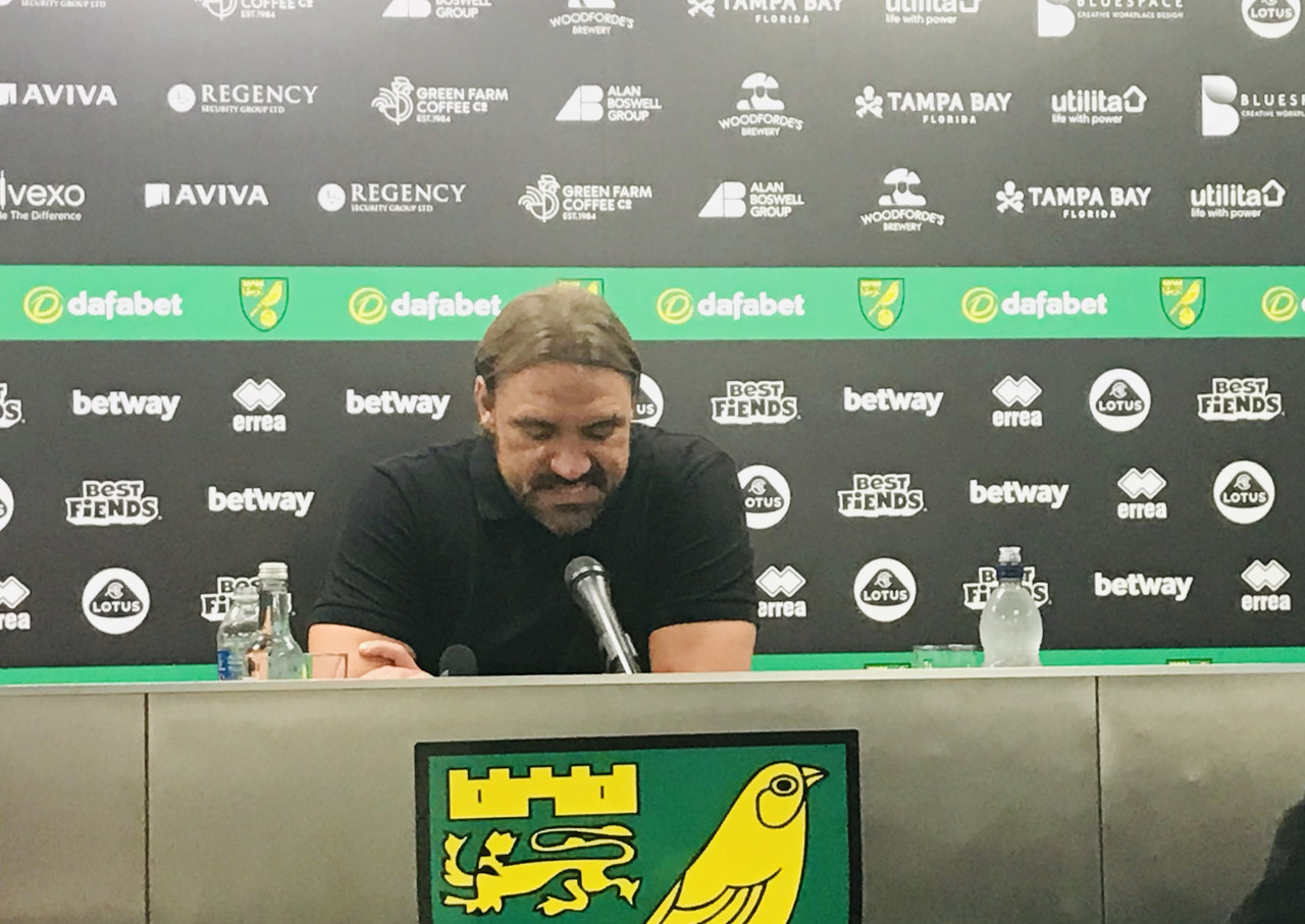 Daniel Farke bemoans injuries as he suggests his squad can't be blamed for heavy defeat