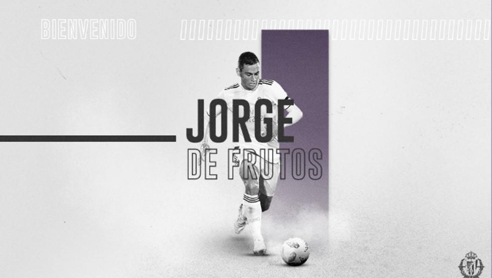 Jorge de Frutos se va cedido al Real Valladolid