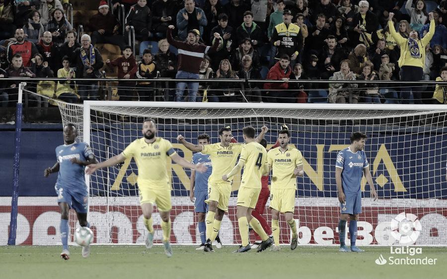 Resumen Getafe vs Villarreal (1-3)
