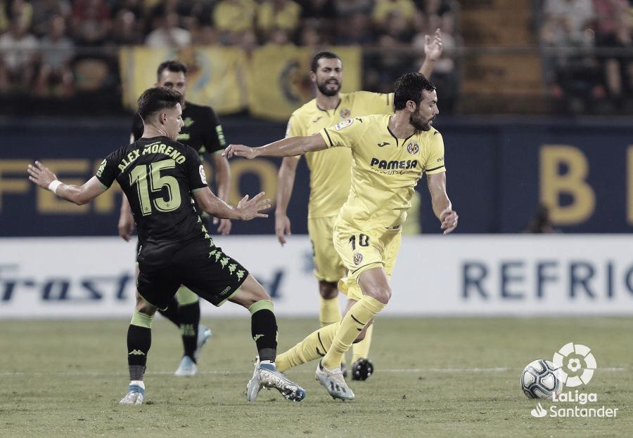 Resumen Betis vs Villarreal (0-2)