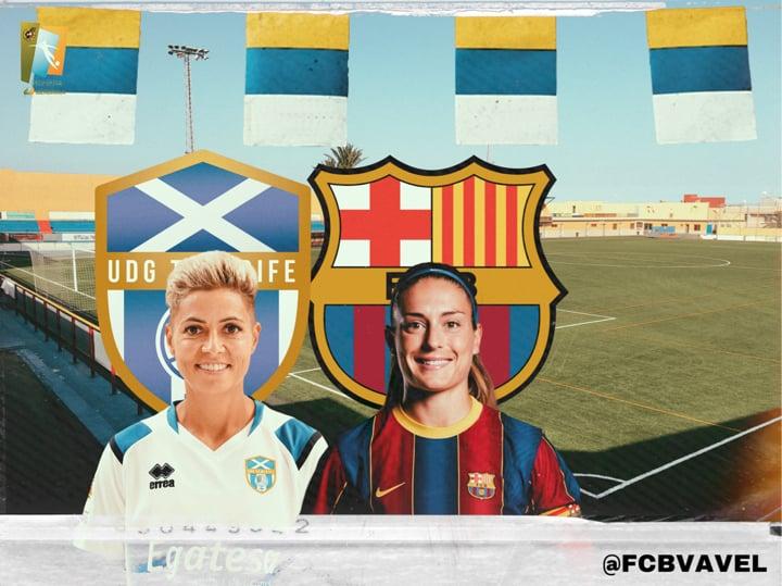 Previa Granadilla Tenerife-FC Barcelona: a por el 'match ball' en Liga