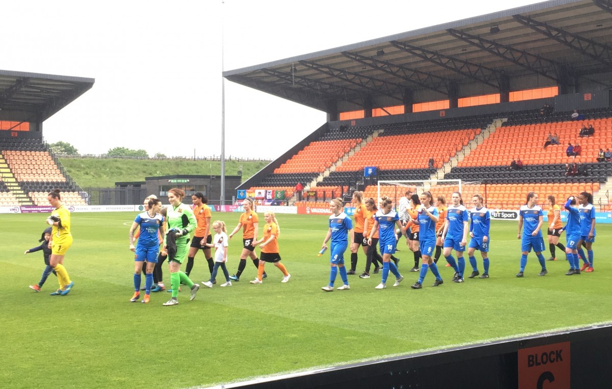 London Bees 0-0 Sheffield: Rain-soaked draw in London