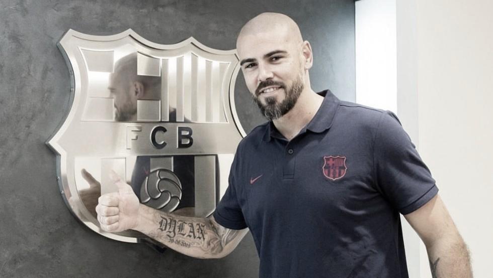 """Víctor Valdés: """"Lo espero todo del equipo"""""""