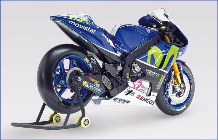 Costruisci anche tu la moto di Valentino Rossi