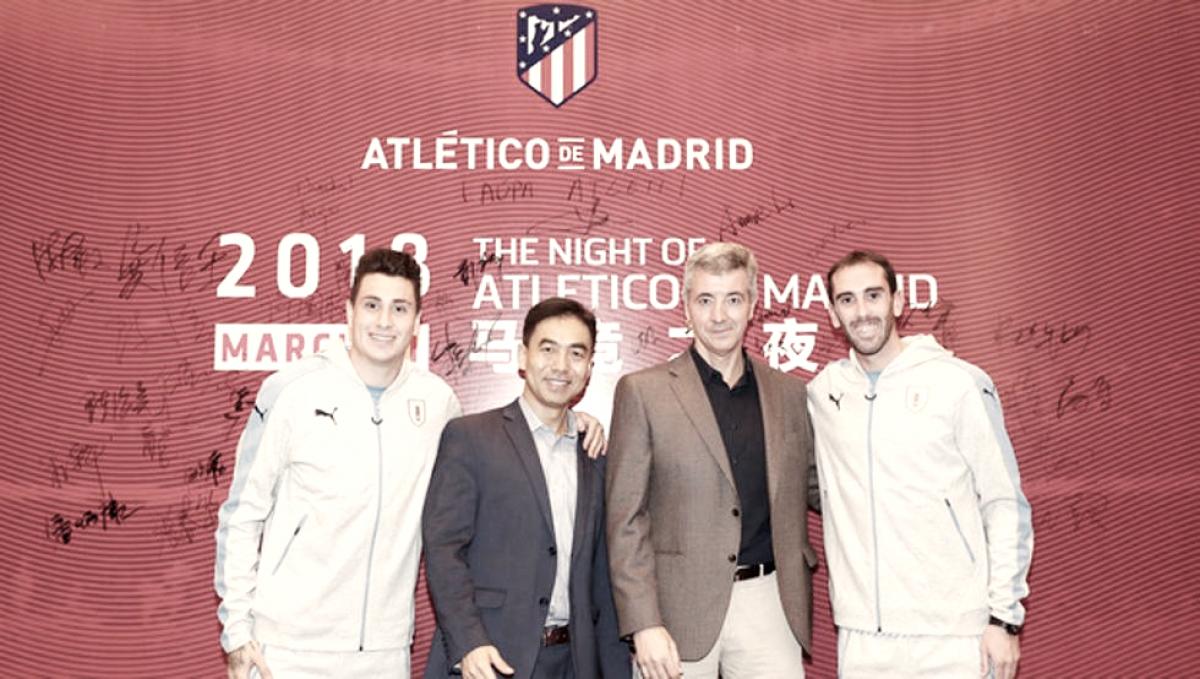 El Atlético sigue su expansión China