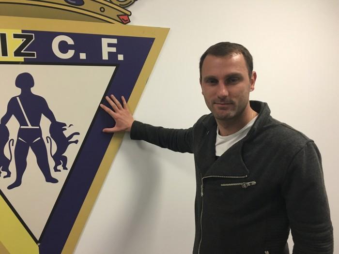 Ranko Despotovic refuerza el ataque del Cádiz