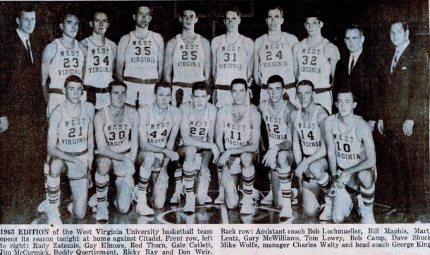 Basketball History: West Virginia Mountaineers