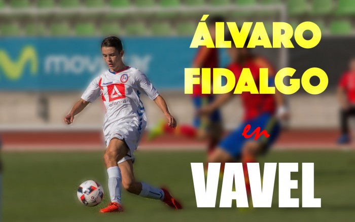 """Entrevista a Álvaro Fidalgo: """"Seguiría estudiando si llego al primer equipo del Real Madrid"""""""