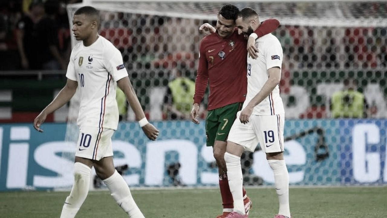 Portugal - Francia: puntuaciones de Portugal en la última jornada de la Euro 2020