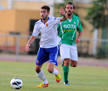 José Mari ya es jugador de la primera plantilla del Real Zaragoza