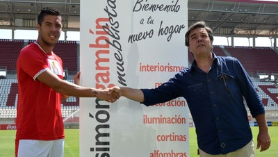 Catalá ya es jugador del Real Murcia CF
