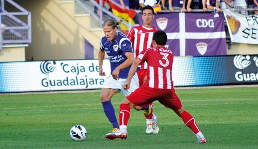 Aitor, el jugador imprescindible del CD Guadalajara
