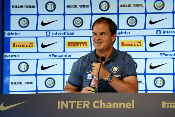 """Inter, la parola a De Boer: """"Io penso solamente a lavorare duramente. Approccio e disciplina sono importanti"""""""