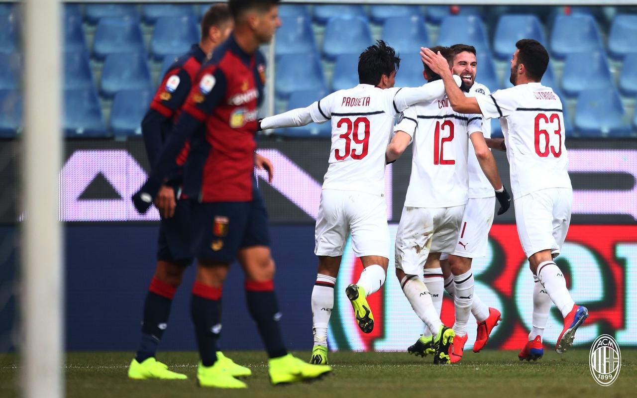 Serie A - Borini e Suso stendono il Genoa: il Milan vince 0-2