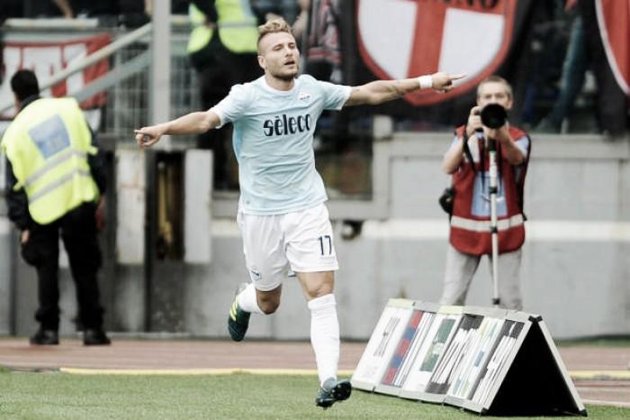 Immobile brilha, Lazio goleia apático Milan e tira invencibilidade do rival