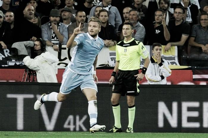 Com dois gols de Ciro Immobile, Lazio bate Udinese fora de casa e pula para terceira posição