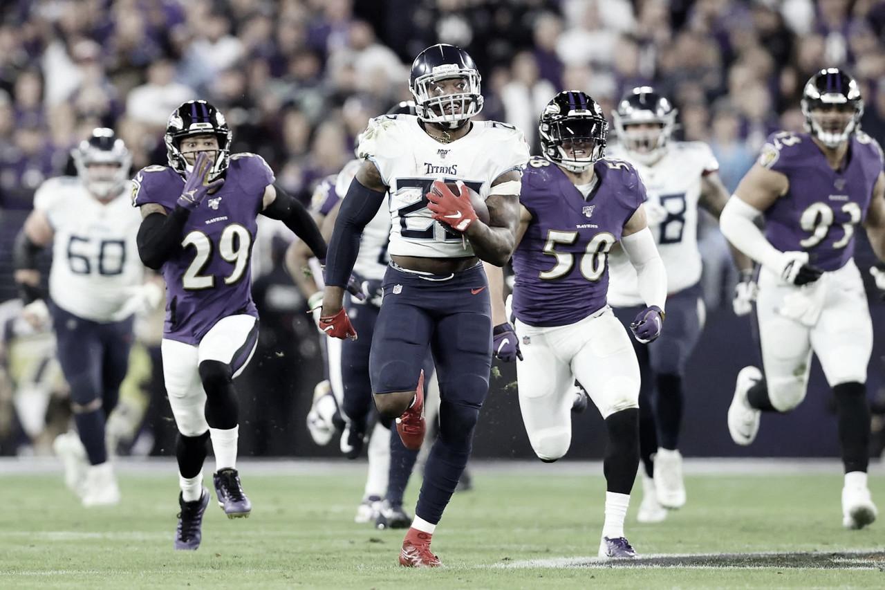 Titans sorprende a Ravens y llega a la final de la AFC