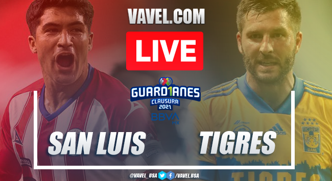 Goals and Highlights on Atlético San Luis 2-2 Tigres Matchday 8 Guard1anes