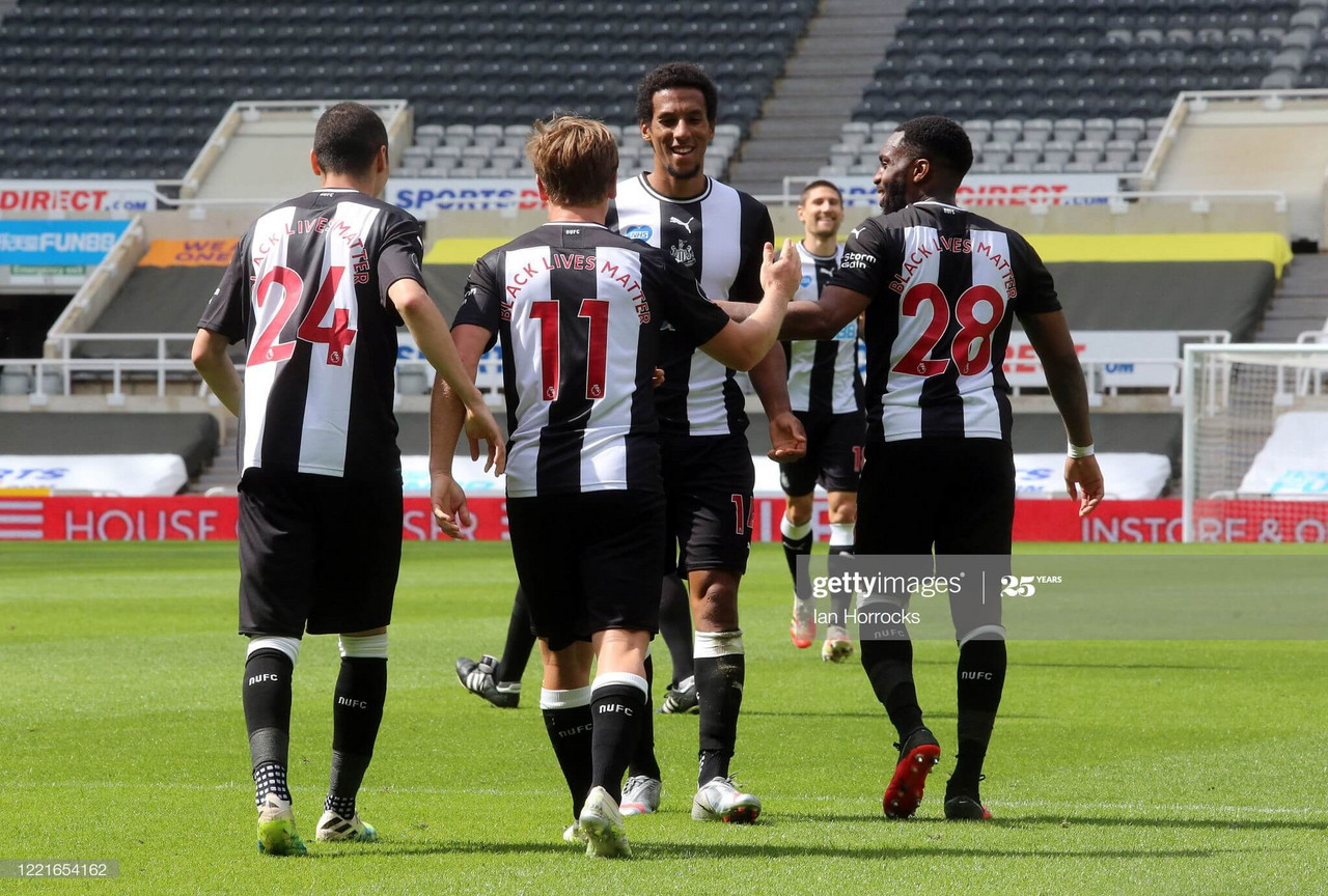 Newcastle United 3-0 Sheffield United: Magpies run rampant past ten-men Blades